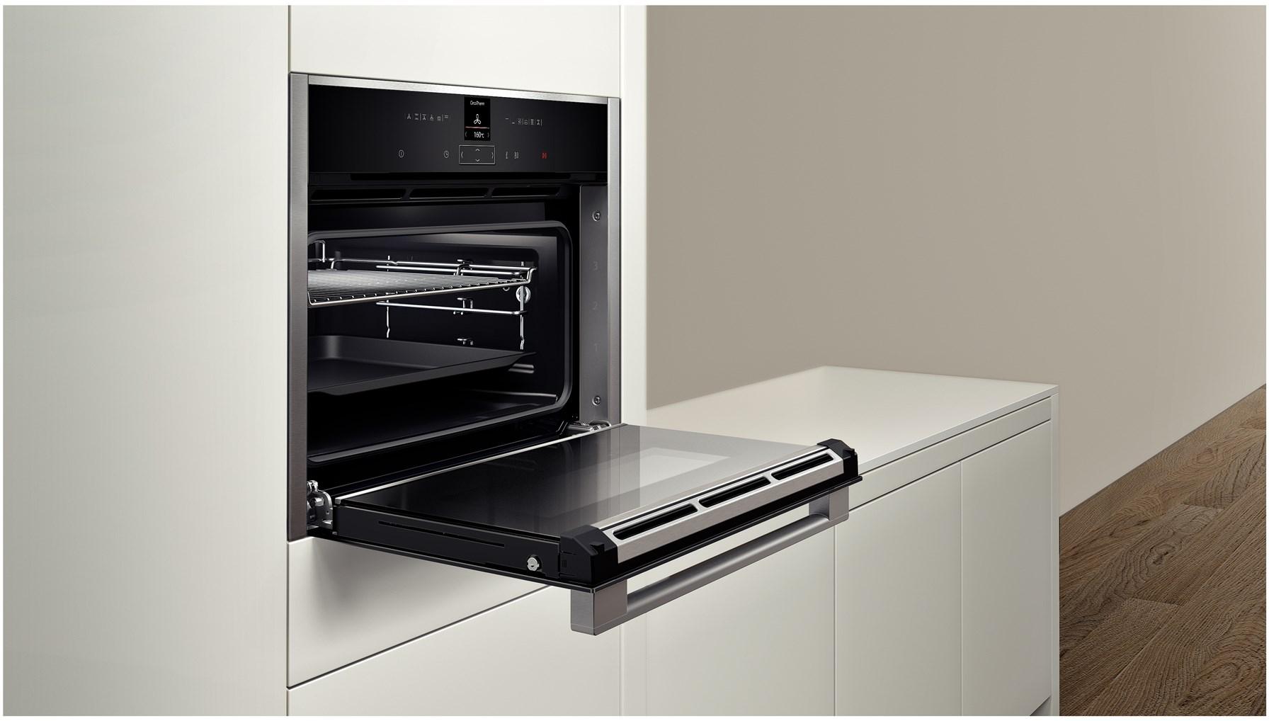 Духовой шкаф газовый шириной 45 см с грилем Foster S45 7145 300 ROMA